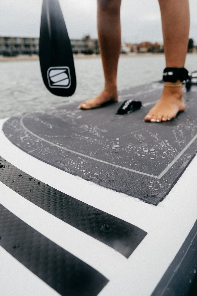 SUP activities, Smooth inflatable stand up paddle boards