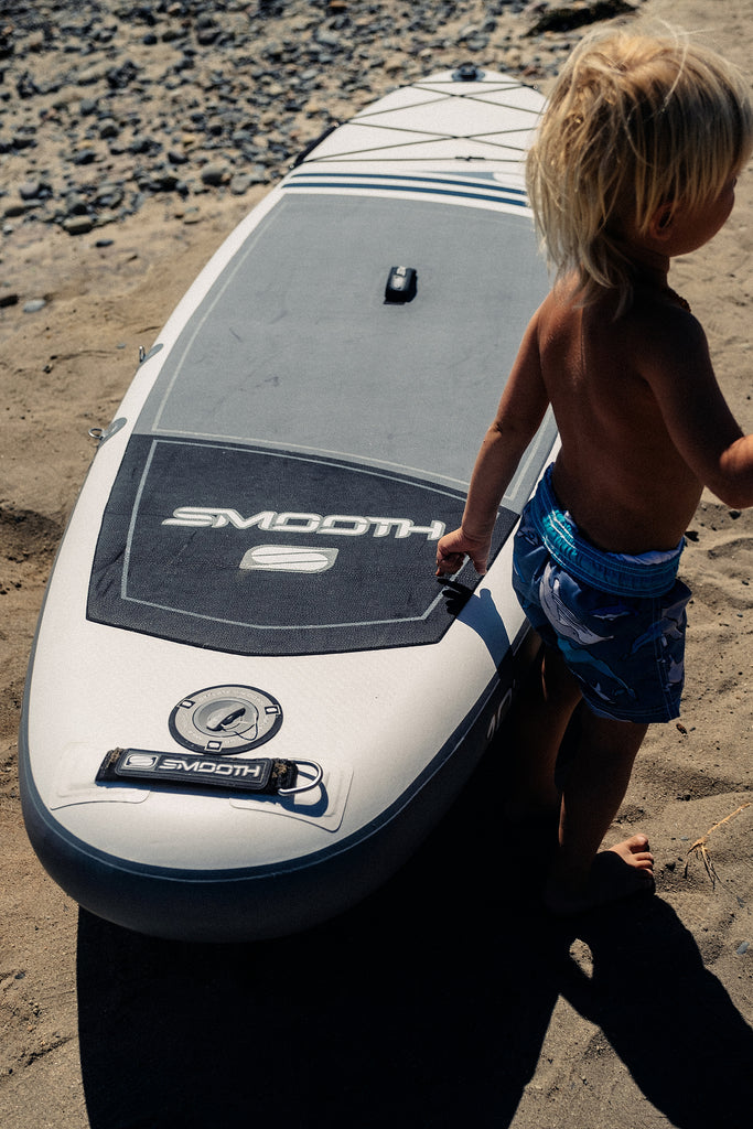 surfing or paddling Smooth SUP