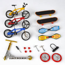 Load image into Gallery viewer, Hot Sale Mini Scooter Two Wheel Scooter Children's Educational toys metal mini finger bikebicycle model toys for boys
