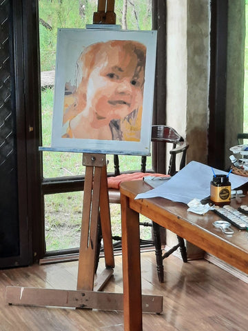 Custom Photo Paint By Numbers Art