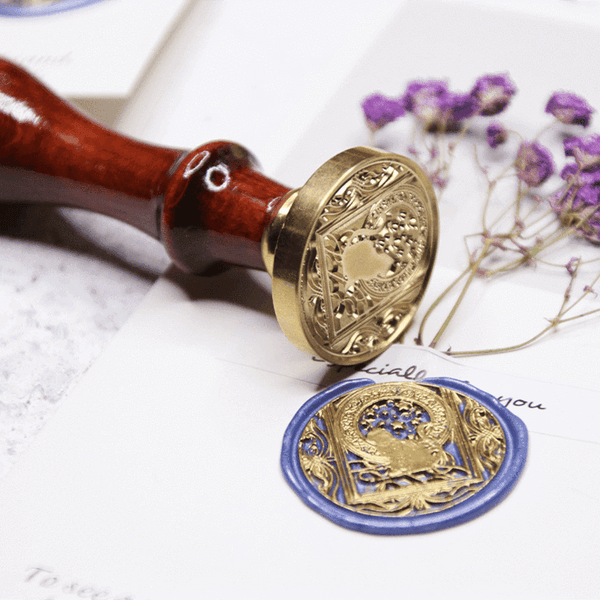 Double Xi Wax Seal Stamp