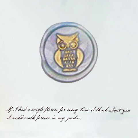12MM Series Owl  - Wax Seal Stamp