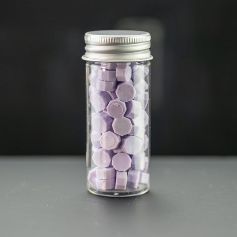 Wax Pellets Bottles Sealing Wax - Instagram Color Taro Purple