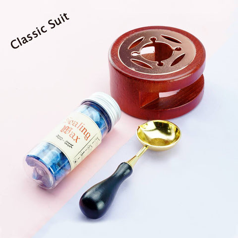 Classic Suit: Recommended For The First Try! SEALING WAX MELTING SET