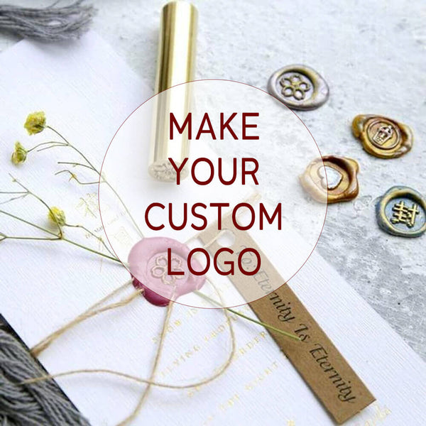 50% OFF! Your Custom Made Personal Wax Seal Cylinder Stamps