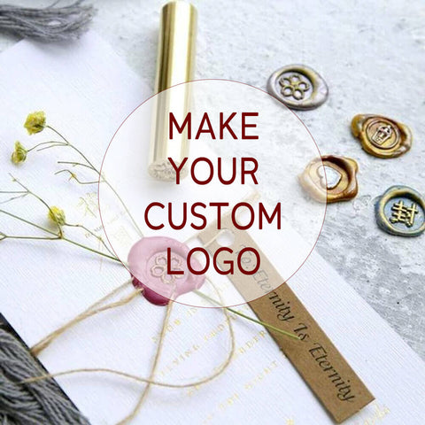Free! Your Custom Made Personal Wax Seal 15MM Stamps