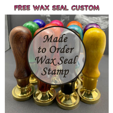 Free Customized Round Wax Seals