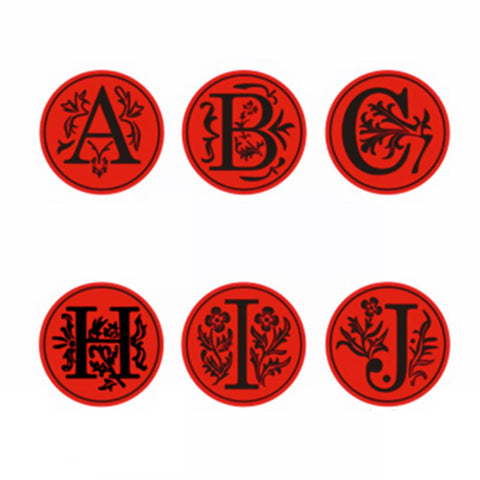 Fancy Letter A-Z &  Wax Seal Stamp