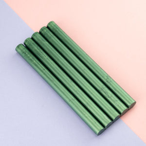 Gun Sealing Wax Pack Of 5 Sticks-Pine Green
