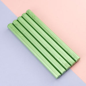 Gun Sealing Wax Pack Of 5 Sticks-Fruit green