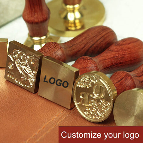 50% OFF! Your Custom Made Personal Wax Seal Square Stamps (20MM~40MM)
