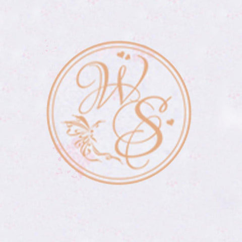 Personalized Double Initials Wax Seal Stamp Design Your Own - Style 070-25MM