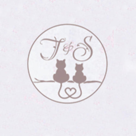 Personalized Double Initials Wax Seal Stamp Design Your Own - Style 281-25MM