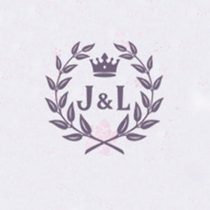 Self Adhesive Wax Seal Sticker DIY Your Double Initials - Style 409-25MM
