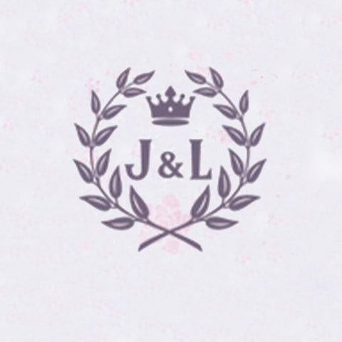 Personalized Double Initials Wax Seal Stamp Design Your Own - Style 409-25MM