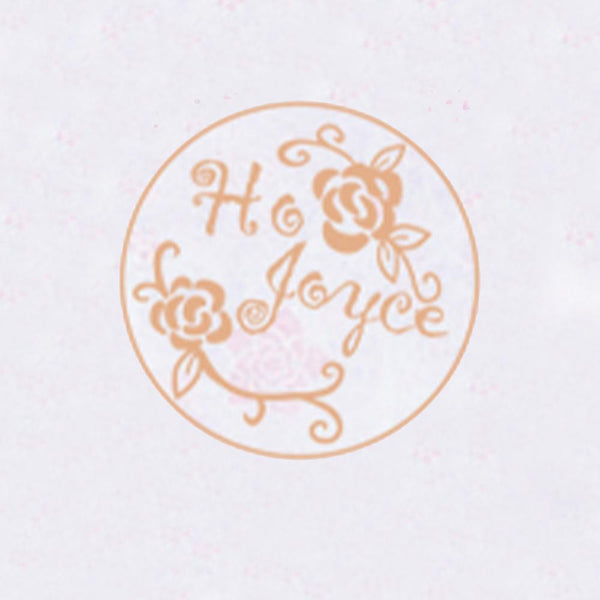 Personalized Initials Wax Seal Stamp Design Your Own - Style 056-25MM