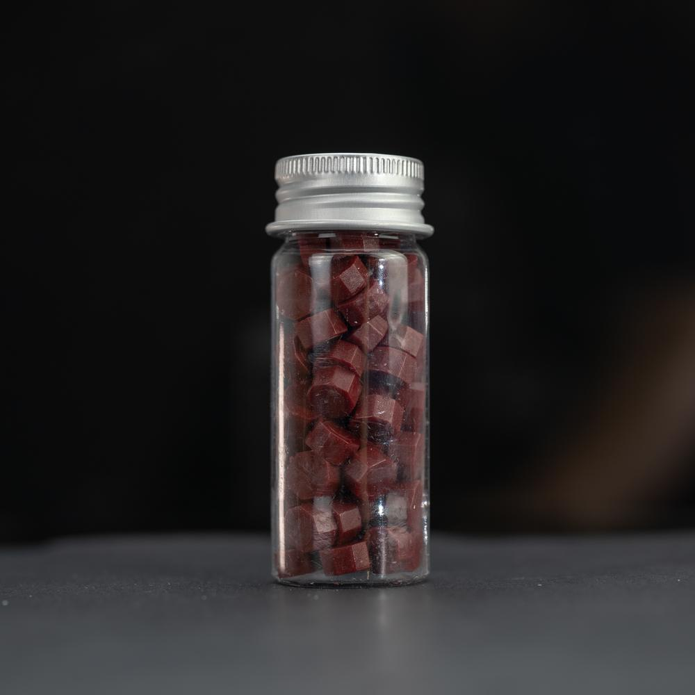 Wax Pellets Bottles Sealing Wax - Maroon