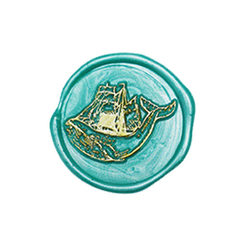 Whale Ocean Whale Series - Wax Seals Stamp