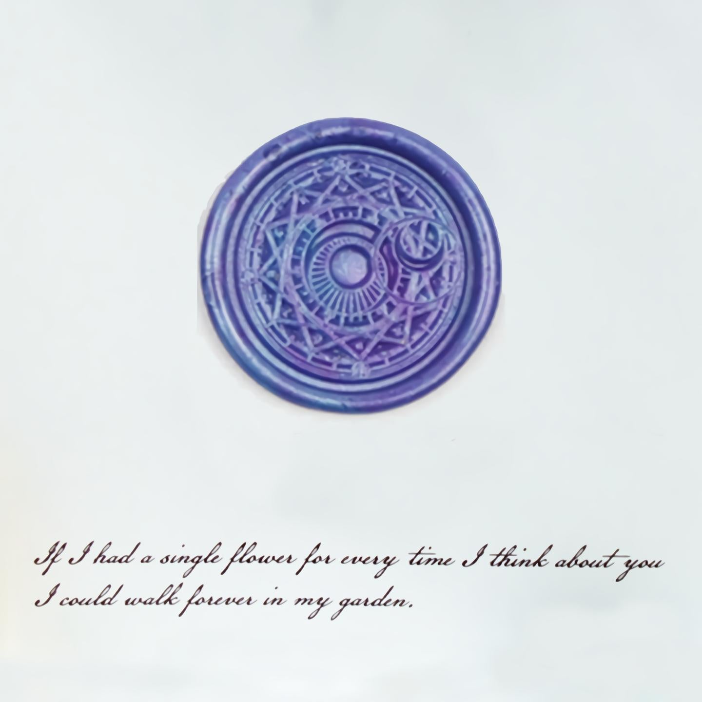 Magic Circle Wax Seal Stamp