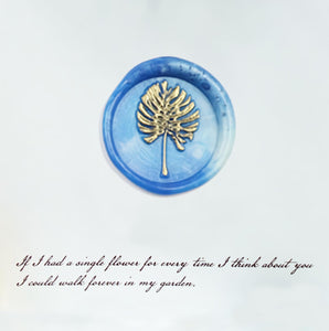 Flowers And Plants Wax Seal Stamp