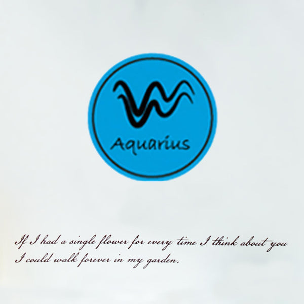 Aquarius Wax Seal Stamp