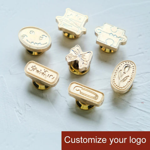 50% OFF! Your Custom Made Personal Wax Seal Special Shaped Stamps