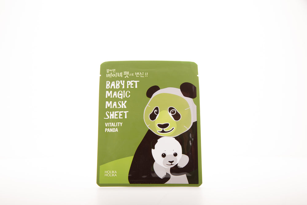 Sheet Mask In The Shape Of A Panda