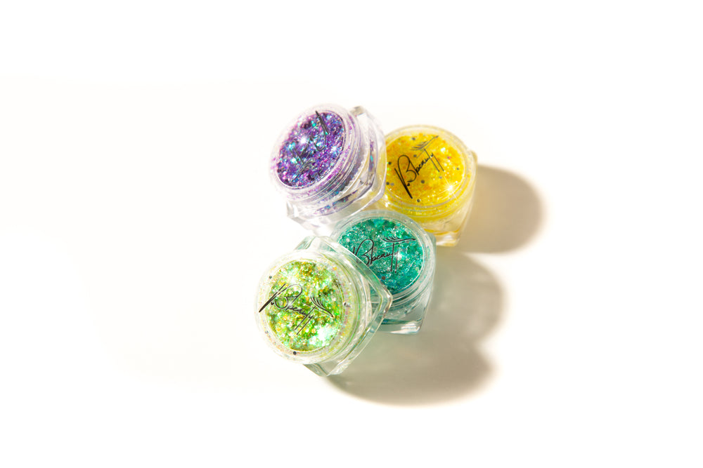 Group of Glitterbomb Eyeshadows