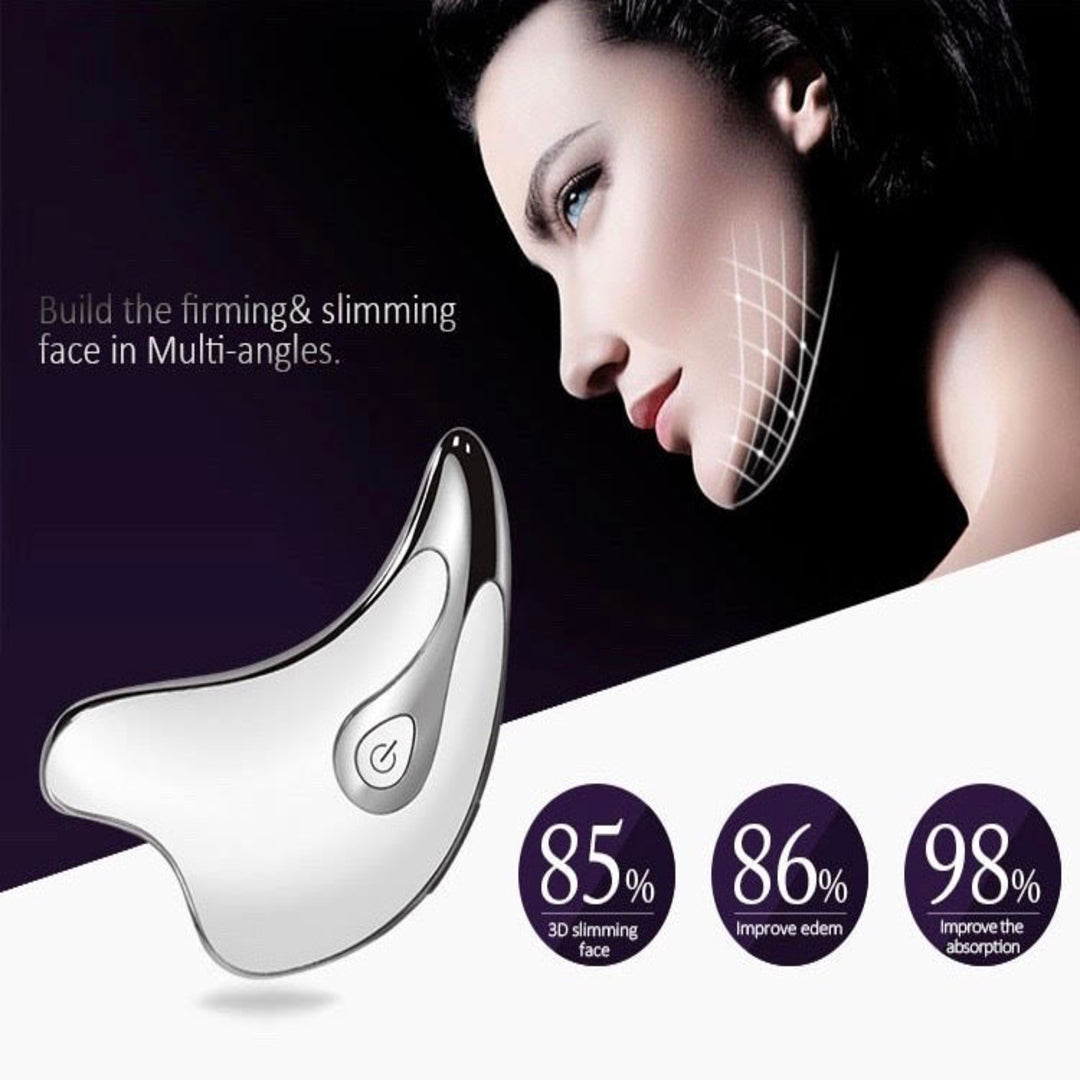 Patented Face Lifting & Neck Care Device. High Frequency Sonic Vibration 12,000x/min (AU Stock)