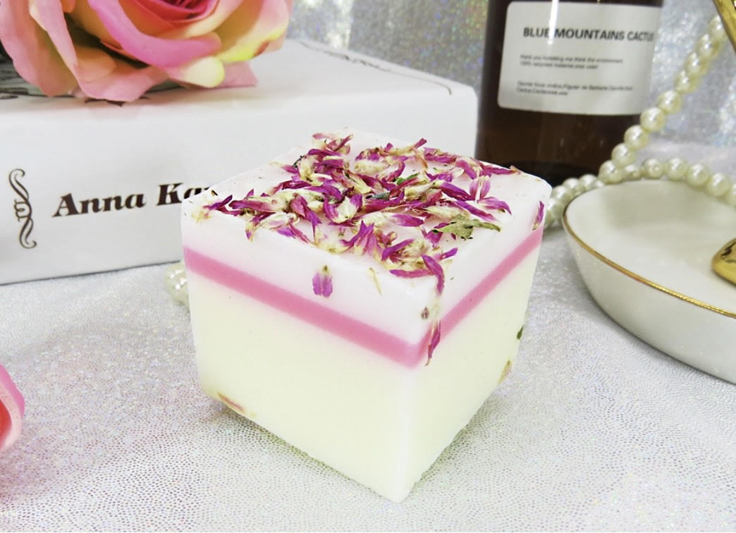 Certified Organic Soap For Face & Body (Gomphrena Globosa). #1 Selling !!! (AU Stock)
