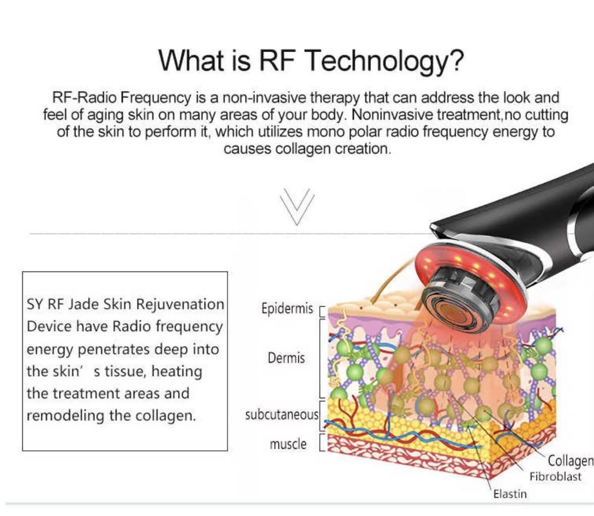 """BEAUTY SALE"" iAgeless RF Radio Frequency Photon LED Face & Skin Rejuvenation Beauty Device (AU Stock) - iAgeless Beauty"