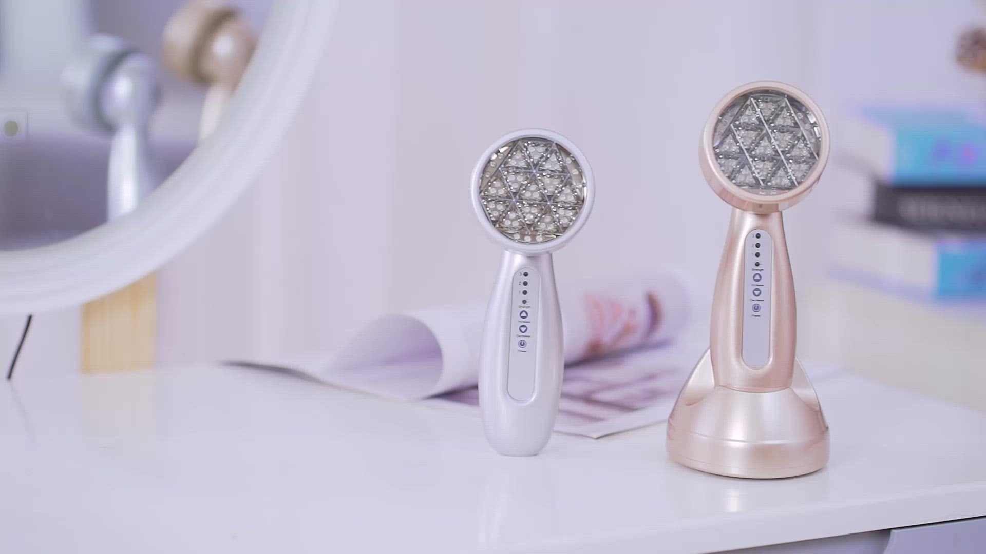 LED Light Therapy Wand ~ Extra Wide Powerful Probes. #1 Selling Light Therapy Facial (AU Stock)