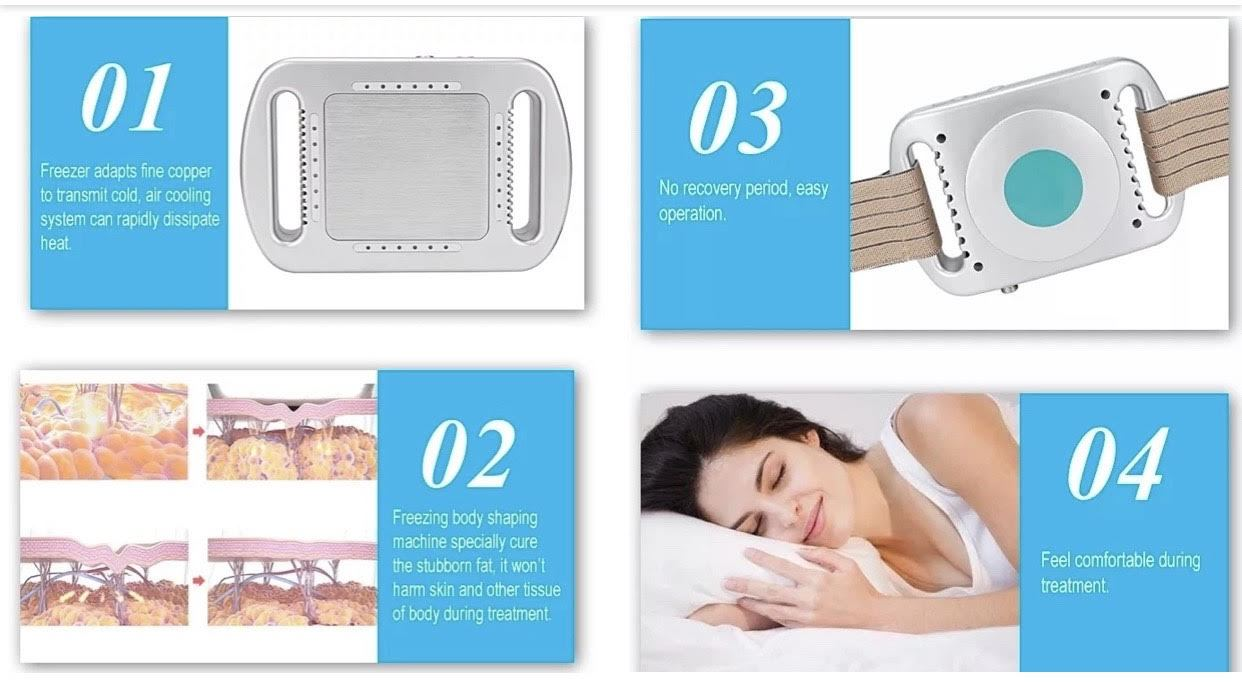 Portable Fat Freeze Cryolipolysis Slimming & Shaping Device For Home Use - iAgeless Beauty