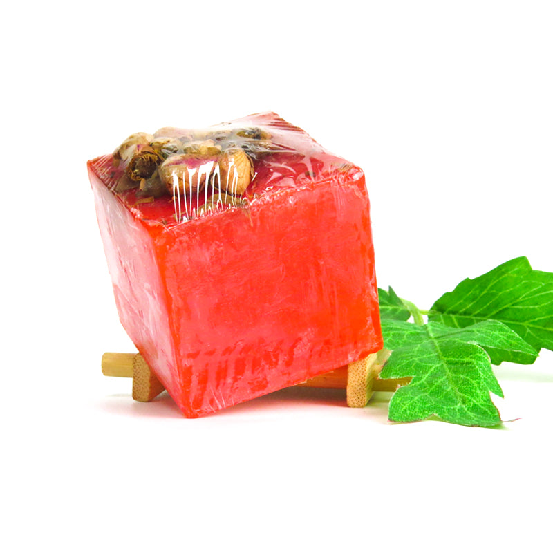 Certified Organic Soap For Face & Body (Rose). #1 Selling !!! (AU Stock)