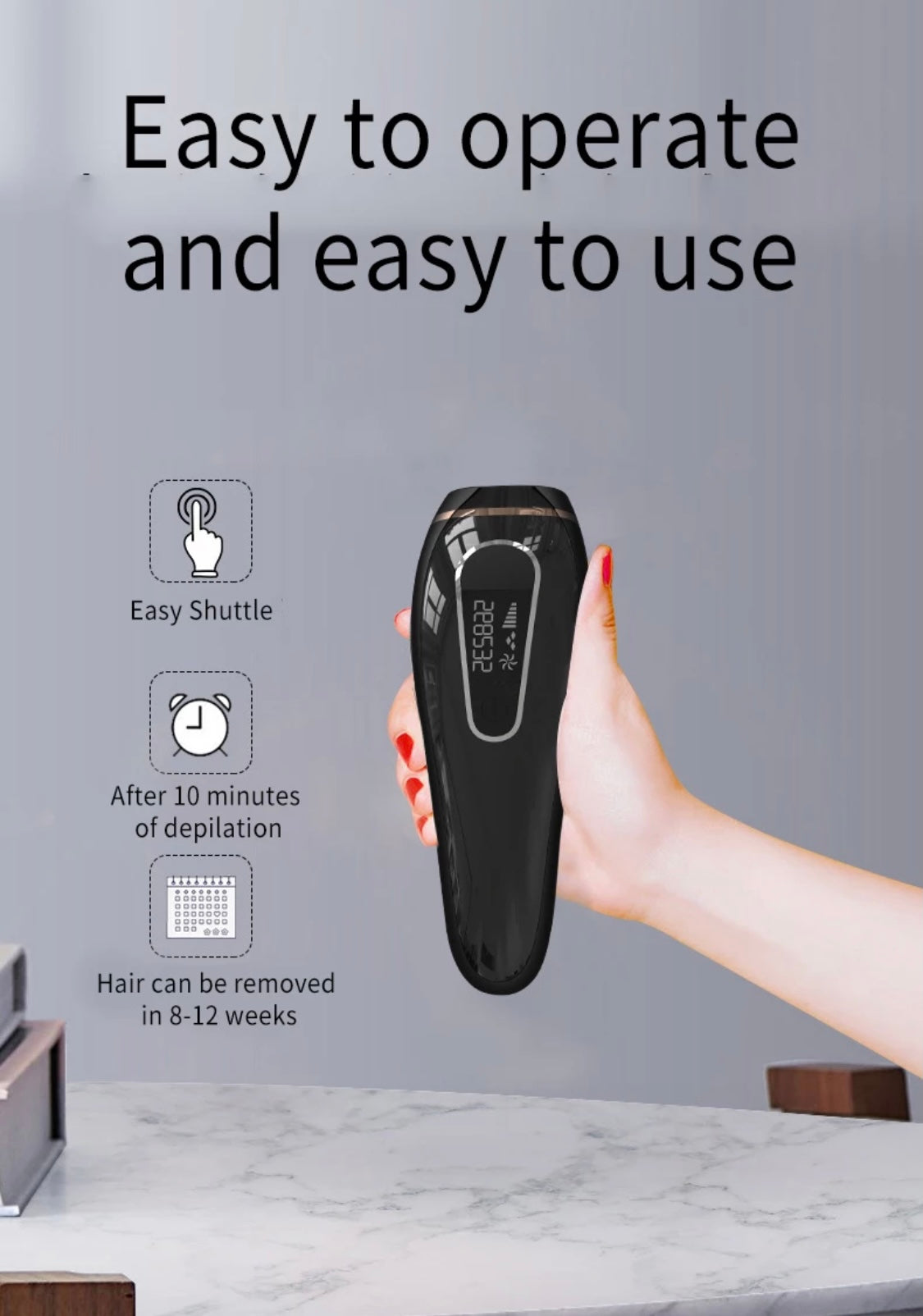 IPL Hair Removal Device ~ 999,999 Flashes (AU Stock)