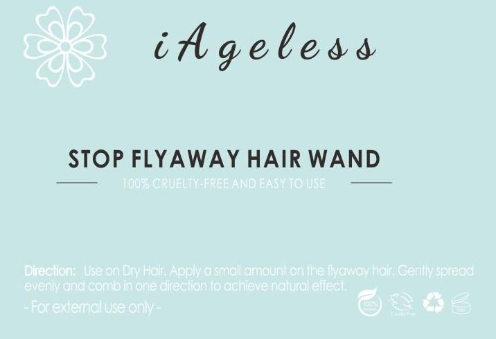 iAgeless Stop Flyaway Hair Wand ~ Banish Pesky Frizzy Flyaway Hair (AU Stock) - iAgeless Beauty