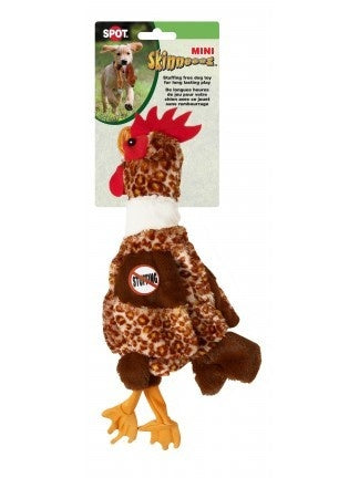 Ethical Pet SPOT Mini Skinneeez Barnyard Chicken Dog Toy
