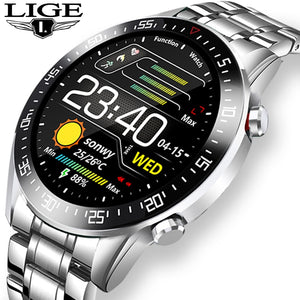 2020 New Steel Band Digital Watch Men Sport Watches