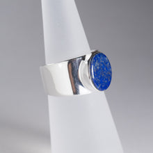 Load image into Gallery viewer, Lapis Ring Silver