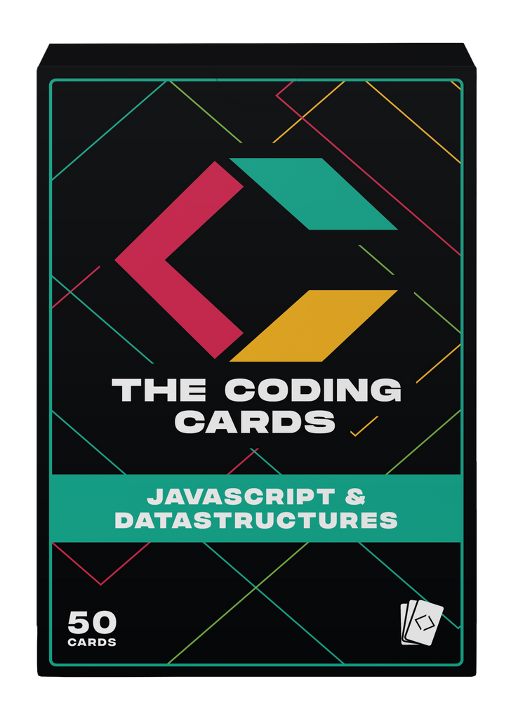 JavaScript And Data Structures Flashcards - The Coding Cards