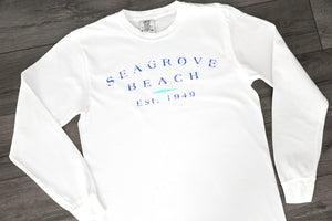 Seagrove Beach Est.<br>Long Sleeve Tees