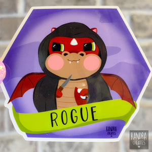 Dragon Rogue Sticker