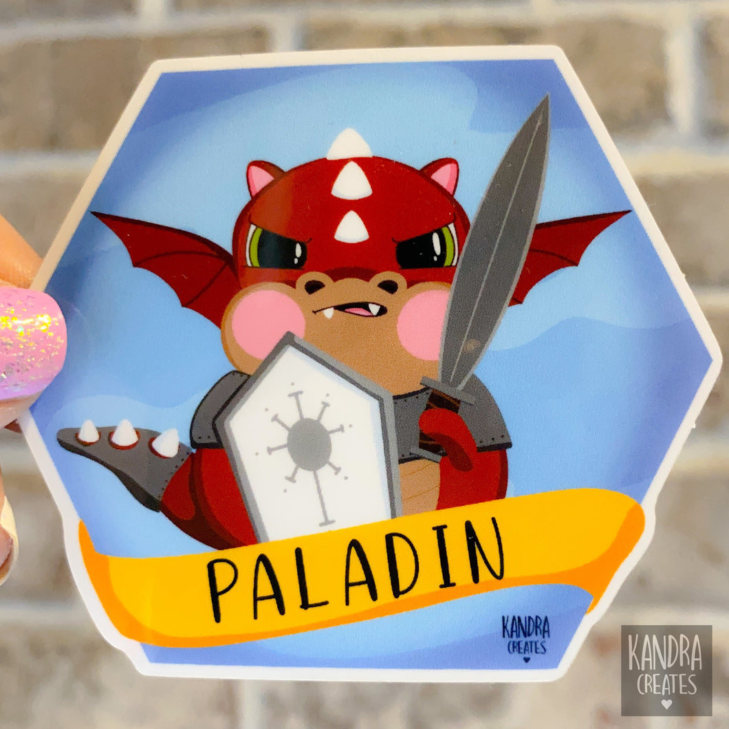 Dragon Paladin Sticker