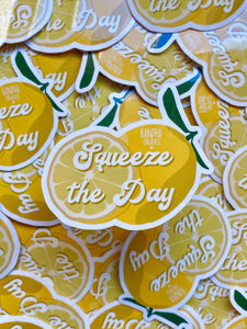Squeeze the Day Sticker