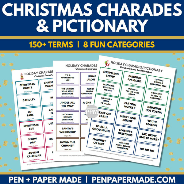 product image for christmas charades pictionary