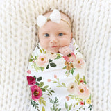 Flower Printed Sack Swaddle