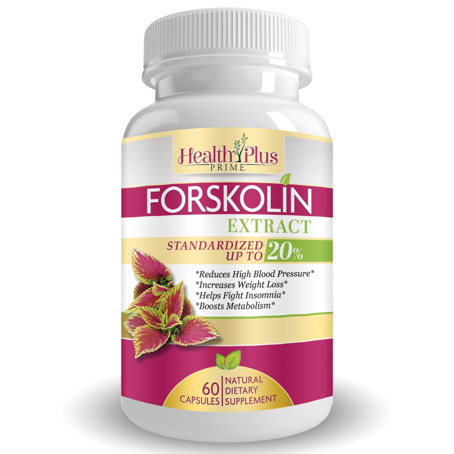 Forskolin 500mg Weight Loss Appetite Suppressant Supplement 60 Capsules Anti Age Health & Beauty