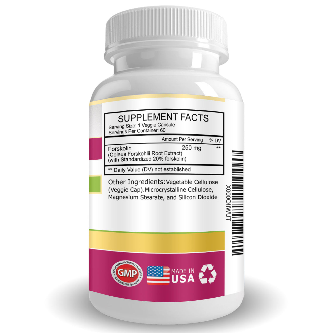 Forskolin Extract - Appetite Suppressant, Weight Loss Supplement