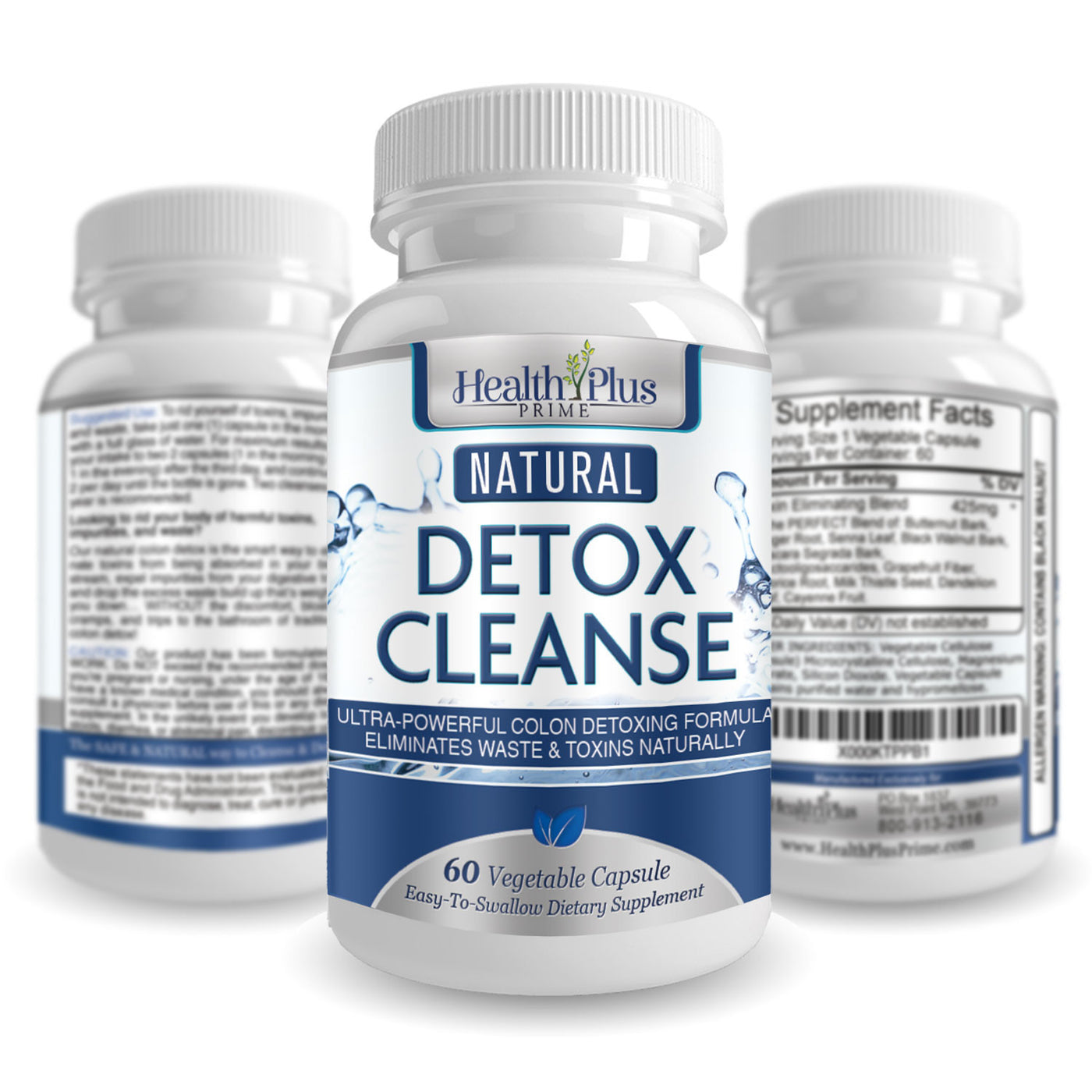 Detox Cleanse - Safe & Natural Colon Cleanse
