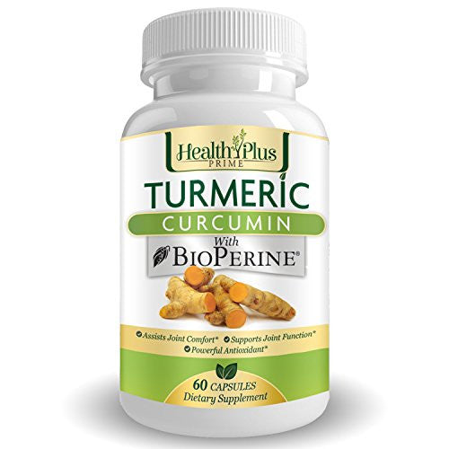 Turmeric Curcumin with BioPerine® - Premium Pain Relief & Joint Support